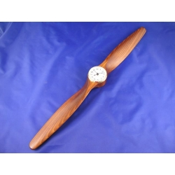 Decorative propeller with clock