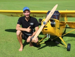 Gernot Bruckmann,  Fiala props and one of first FM 280 B4 _year 2016